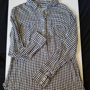Merona flannel long sleeve